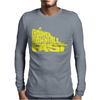 Going Downhill Fast CYCLING Mens Long Sleeve T-Shirt