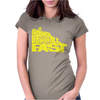 Going Downhill Fast CYCLING Womens Fitted T-Shirt