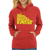 Going Downhill Fast CYCLING Womens Hoodie