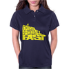 Going Downhill Fast CYCLING Womens Polo