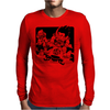 Goku and Krillin Mens Long Sleeve T-Shirt