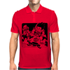Goku and Krillin Mens Polo