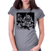 Goku and Krillin Womens Fitted T-Shirt