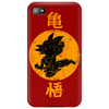 goku dragon kick Phone Case