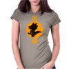 goku dragon kick Womens Fitted T-Shirt