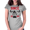 Goku Lifting Womens Fitted T-Shirt