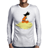 Goku Minimalist Mens Long Sleeve T-Shirt