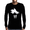 Goku Suit And Tie Mens Long Sleeve T-Shirt