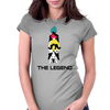 Goku The Legend Womens Fitted T-Shirt