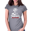 Goku - Train Hard No Excuses Womens Fitted T-Shirt