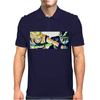 Goku vs Cell Mens Polo