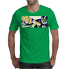 Goku vs Cell Mens T-Shirt