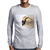 Golden Dodge Mens Long Sleeve T-Shirt