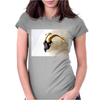 Golden Dodge Womens Fitted T-Shirt