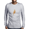 golden dragon Mens Long Sleeve T-Shirt