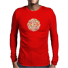 Golden Flitch (Digital Vintage Retro / Glitched P Mens Long Sleeve T-Shirt
