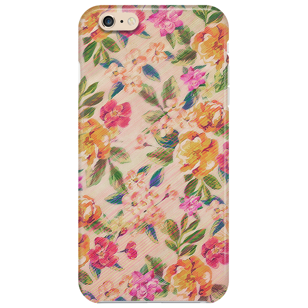 Golden Flitch (Digital Vintage Retro / Glitched P Phone Case