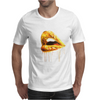 Golden Lips Mens T-Shirt