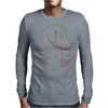 Golden Retriever art Mens Long Sleeve T-Shirt