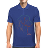 Golden Retriever art Mens Polo