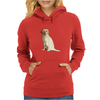 Golden Retriever Womens Hoodie