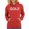 Golf  Funny  retro odd hip hop fashion cool future sport street Womens Hoodie
