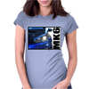 Golf R MK6 Blue Womens Fitted T-Shirt