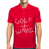 Golf Wang Burgundy Mens Polo
