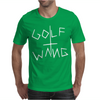 Golf Wang Burgundy Mens T-Shirt