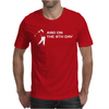 Golfing Cotton Mens T-Shirt