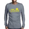 Gone Squatchin' Mens Long Sleeve T-Shirt