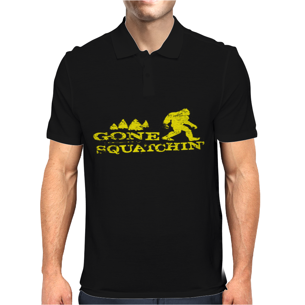Gone Squatchin' Mens Polo