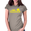 Gone Squatchin' Womens Fitted T-Shirt