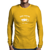 Gone Surfing - White Logo Mens Long Sleeve T-Shirt