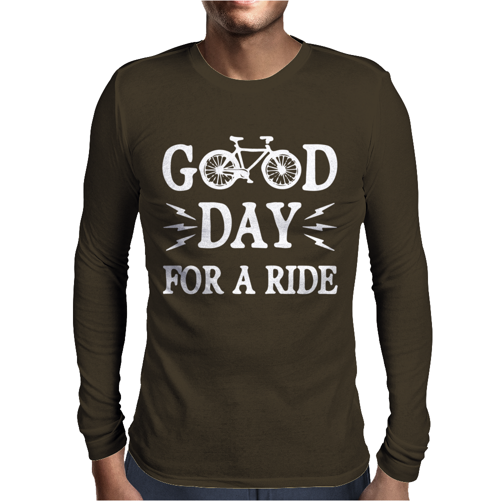 Good Day For A Ride Mens Long Sleeve T-Shirt