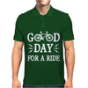 Good Day For A Ride Mens Polo