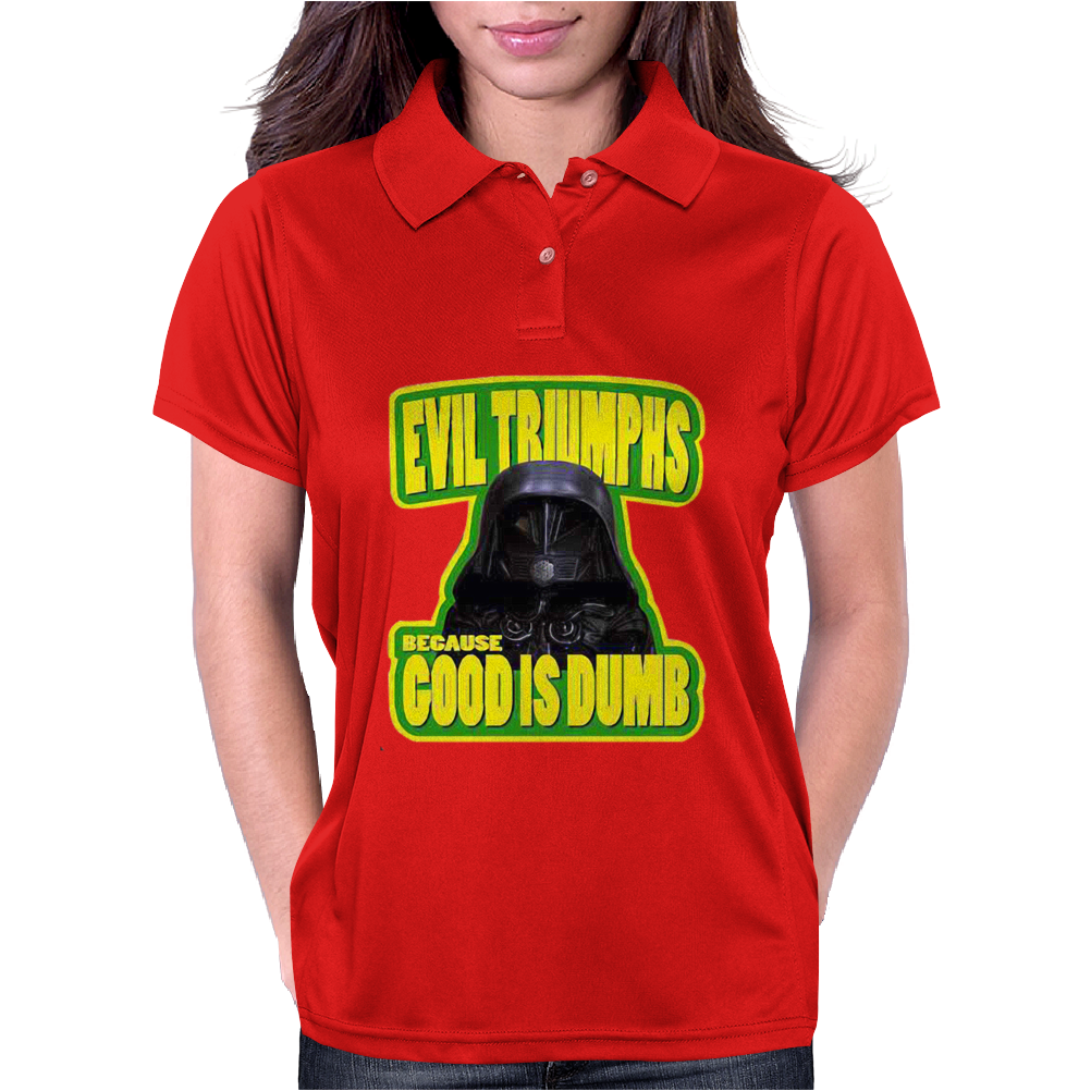 Good is Dumb Womens Polo