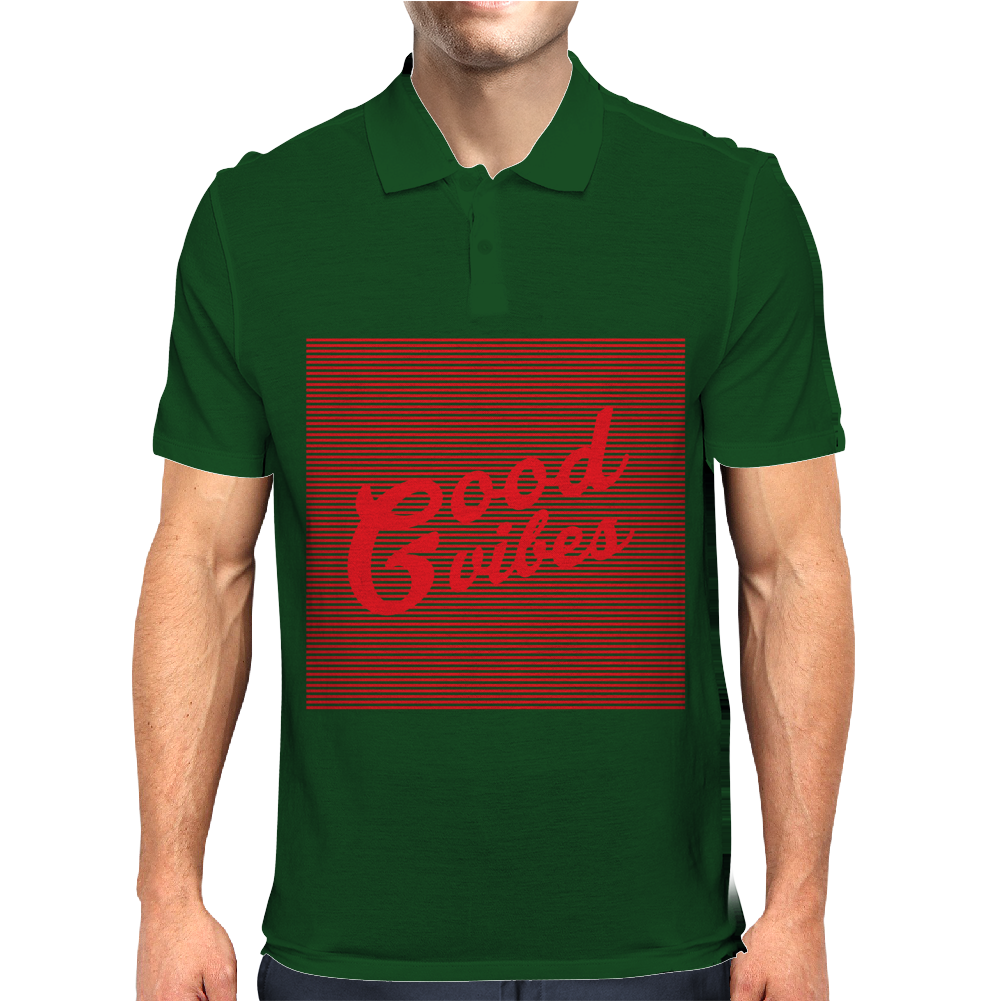 Good Vibes Mens Polo