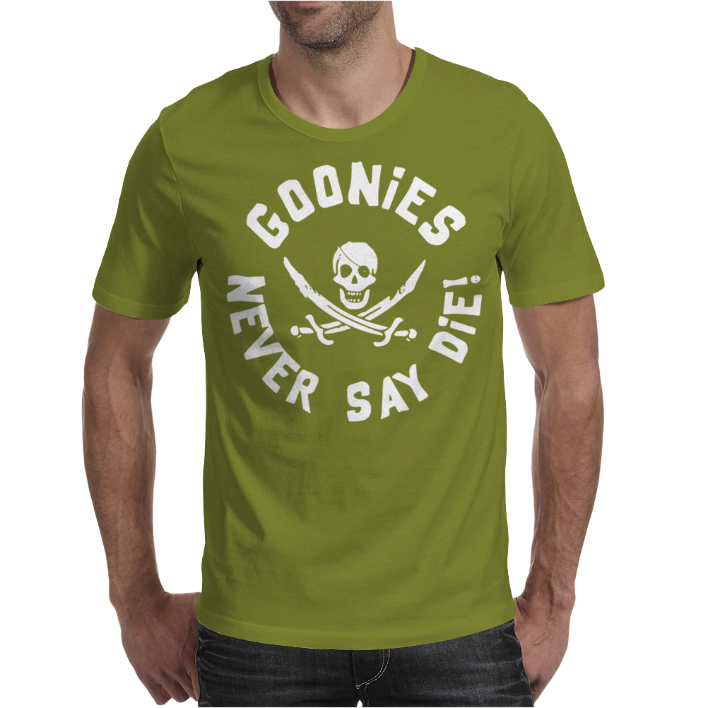 Goonies Never Say Die Mens T-Shirt