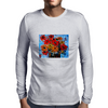 Gorgeous Floral Design Mens Long Sleeve T-Shirt