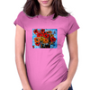 Gorgeous Floral Design Womens Fitted T-Shirt