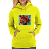 Gorgeous Floral Design Womens Hoodie