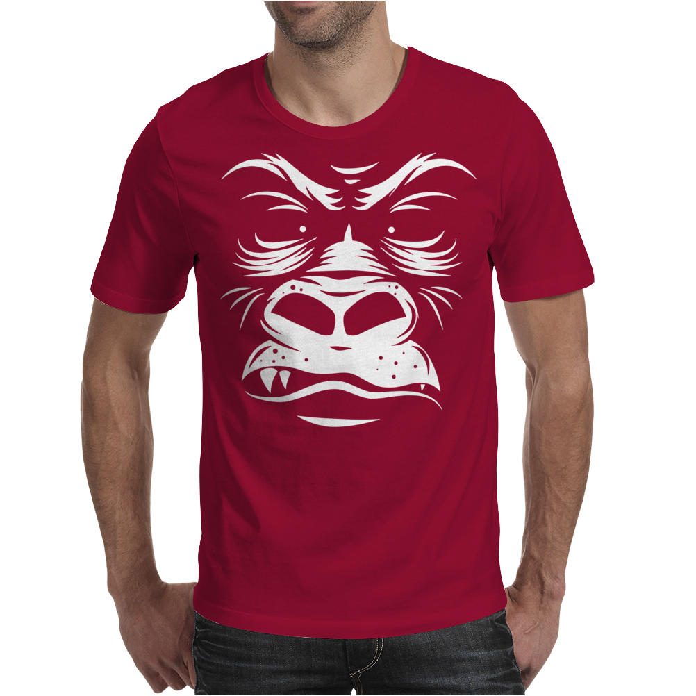 Gorilla Reversed Mens T-Shirt