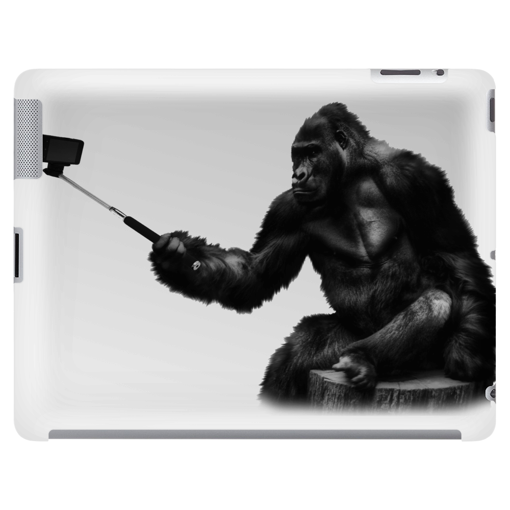 Gorilla Takes a Selfie Tablet (horizontal)
