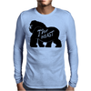 Gorilla The Beast Mens Long Sleeve T-Shirt