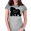 Gorilla The Beast Womens Fitted T-Shirt