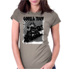 gorilla train Womens Fitted T-Shirt