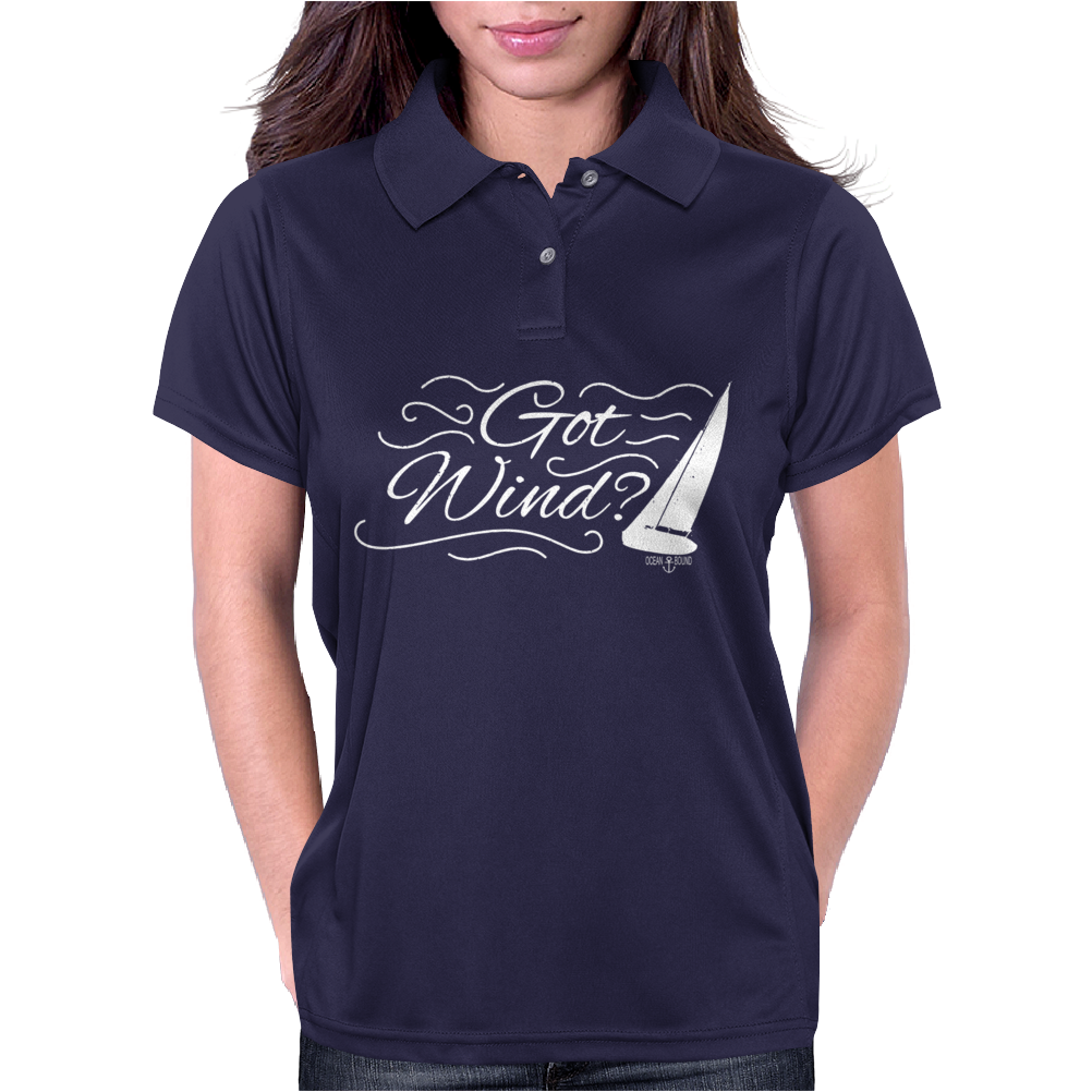 Got Wind Sailing Boat Womens Polo