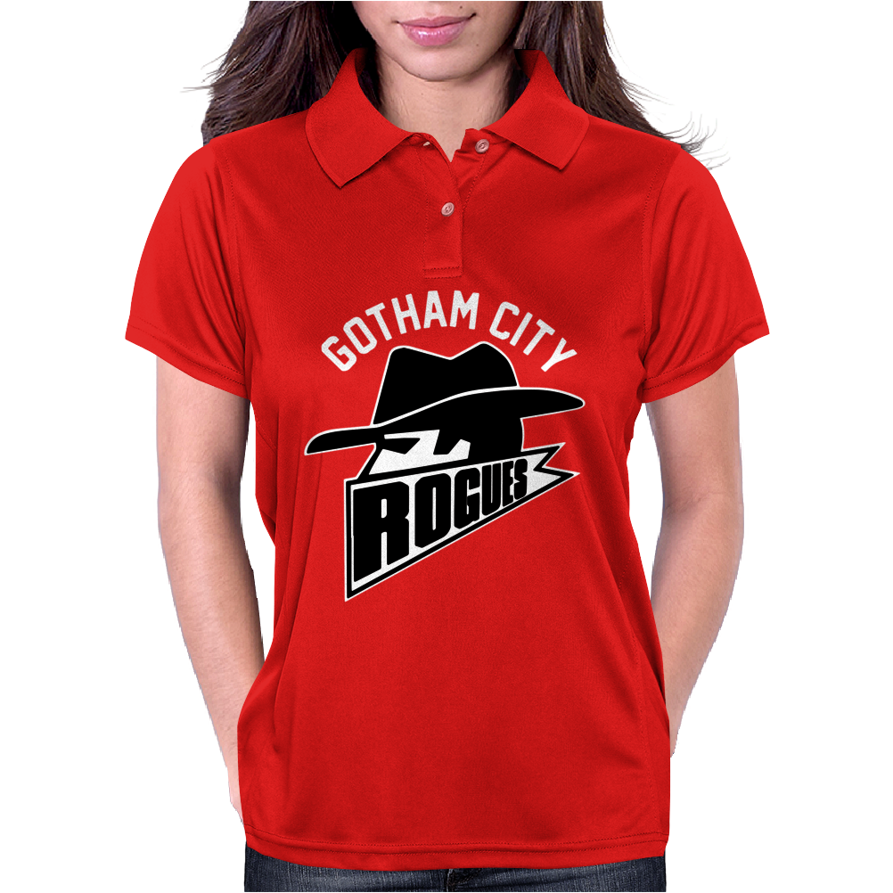 Gotham City Rouges Womens Polo
