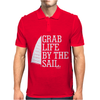 Grab Life By The Sail Mens Polo
